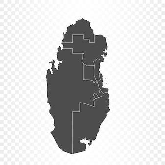 Rendering isolato mappa qatar