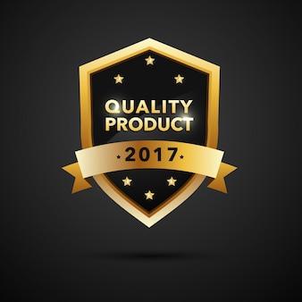 Distintivo di garanzia del prodotto di qualità