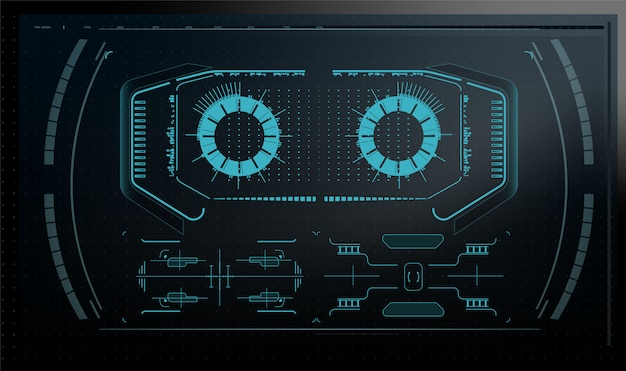 Computer quantistico, elaborazione dati di grandi dimensioni, concetto di database. banner isometrico cpu. concetto centrale della cpu dei processori di computer chip digitale processore futuristico del microchip con le luci sui precedenti blu.