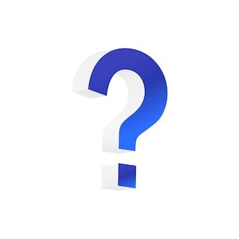 Punto interrogativo segno di punteggiatura dubbio scrittura lettera conversazione