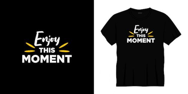 Non abbandonare il design della t-shirt tipografica.