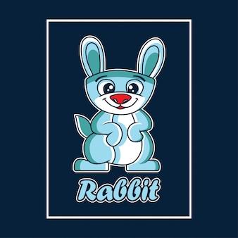 Illustrazione di coniglio