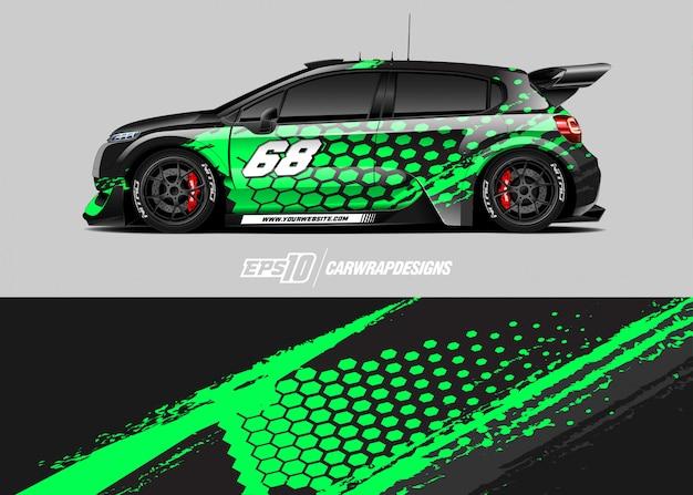 Auto da corsa per rally