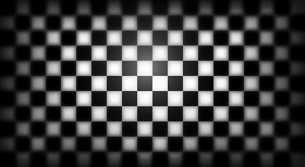Bandiera della corsa. sfondo a scacchi.