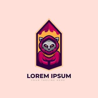 Design del logo racoon