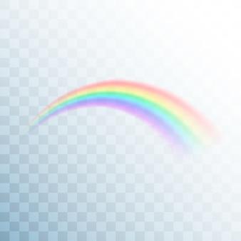 Icona arcobaleno. arcobaleno astratto
