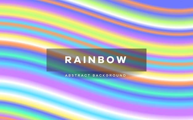 Sfondo colorato striscia arcobaleno