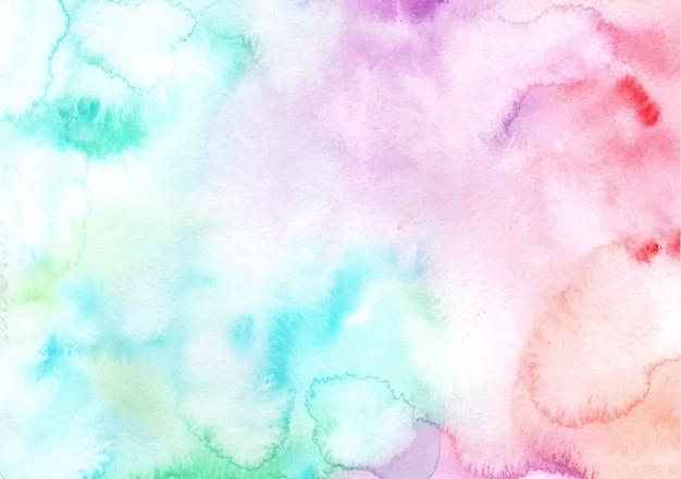 Sfondo acquerello arcobaleno