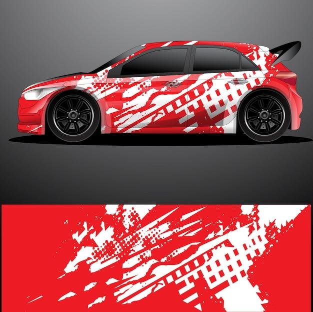 Adesivo grafico decalcomania auto da rally