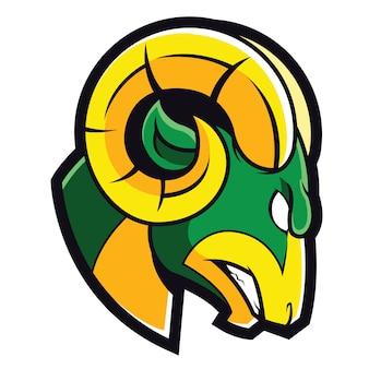 Logo sportivo ram