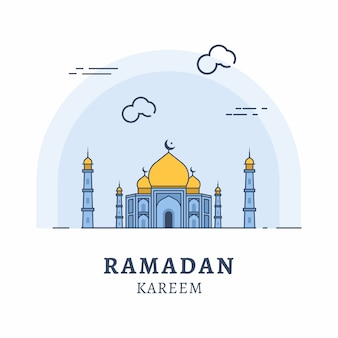 Illustrazione di ramadan kareem
