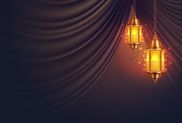 Lanterna di ramadan kareem