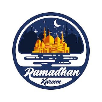Vettore di ramadhan kareem