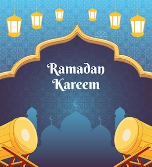 Ramdan kareem design