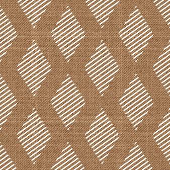 Modello di forma geometrica casuale su tessuto. fondo geometrico astratto, illustrazione di vettore. immagine di stile creativo e di lusso