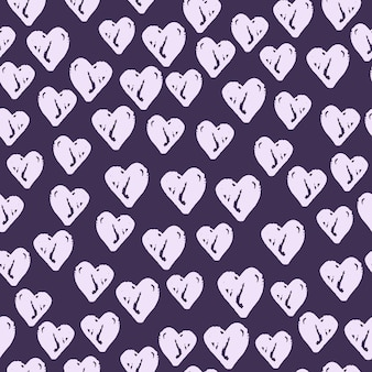 Luce casuale sagome seamless pattern.