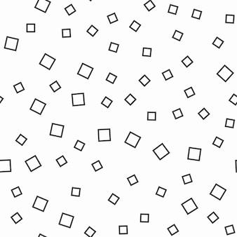Modello di quadrati casuali, sfondo astratto. semplice illustrazione geometrica. stile creativo e di lusso