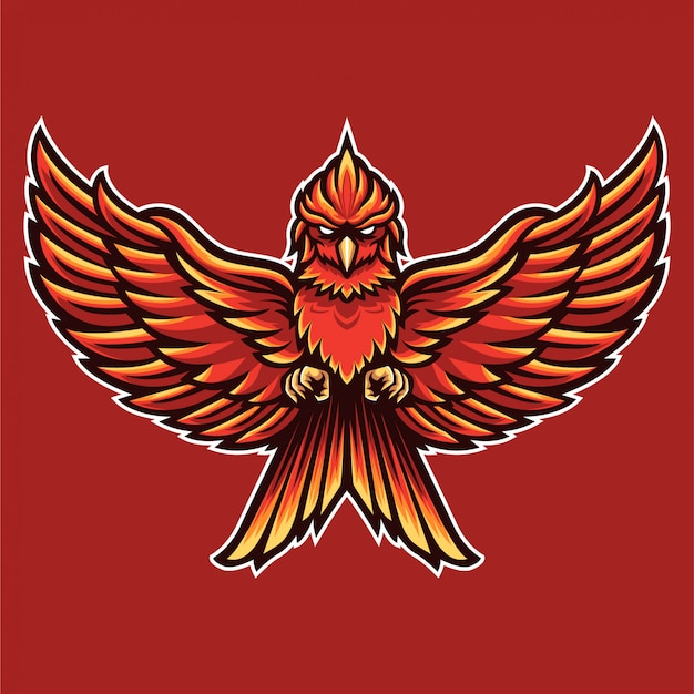 Leggi bird phoenix logo template
