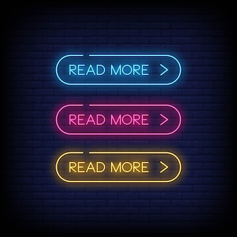 Leggi di più stile insegne al neon