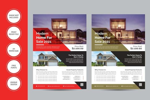 Modelli di volantini immobiliari