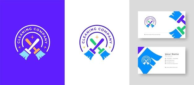Logo casa immobiliare riparazione casa o villaggio logo design vettoriale con un biglietto da visita premium
