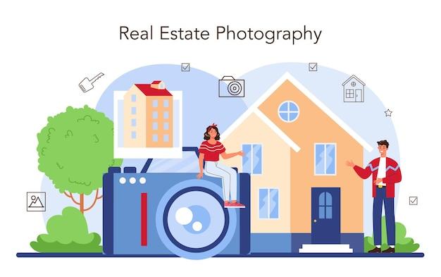 Foto di proprietà di fotografia di presentazione della casa del settore immobiliare