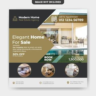 Modello di post instagram immobiliare