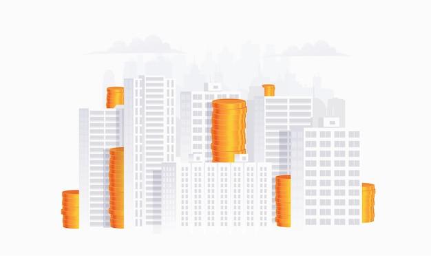 Concetto di investimento immobiliare