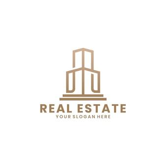 Ispirazione per il design del logo immobiliare