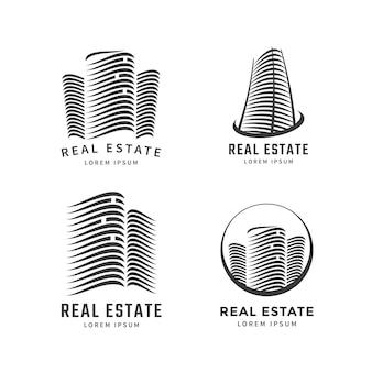 Modello di progettazione logo immobiliare