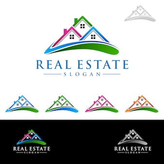 Logo del bene immobile, marchio domestico