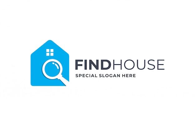 Ispirazione del logo immobiliare.