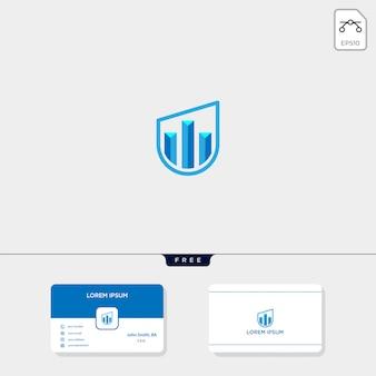 Immobiliare logo illustrazione vettoriale modello