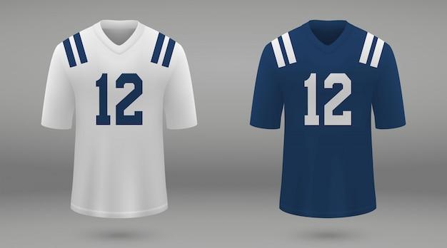 Realistica maglia da football americano