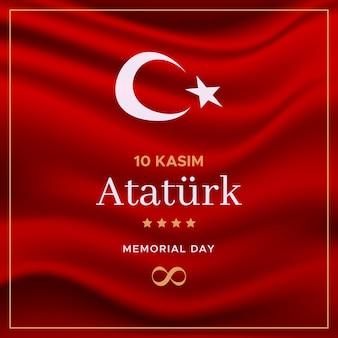 Realistico ataturk memorial day