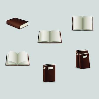 Icona del libro realistico