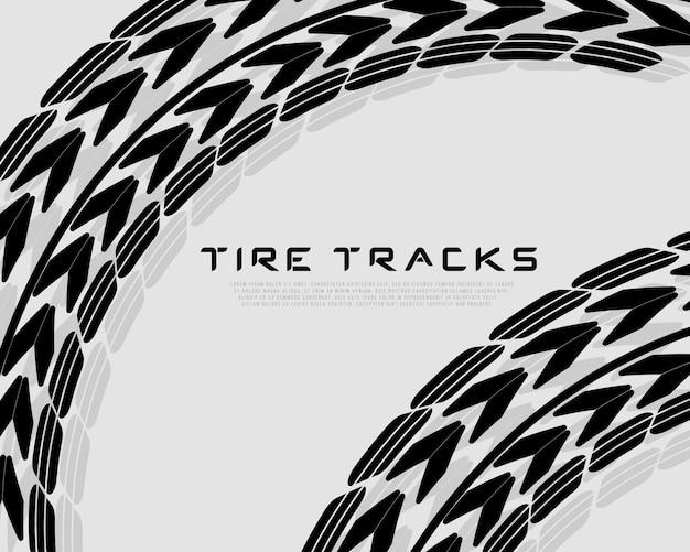 Tracce di composizione realistiche. motocross, pista ciclabile, pista automobilistica o corse automobilistiche