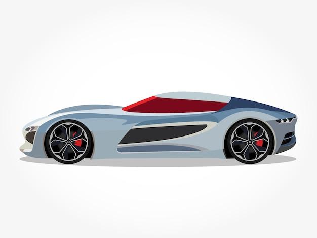 Dettaglio di auto cool realistico