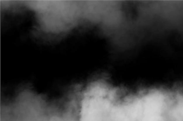 Sfondo realistico della nebbia