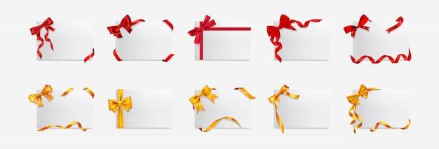 Scatole regalo realistiche insieme di set