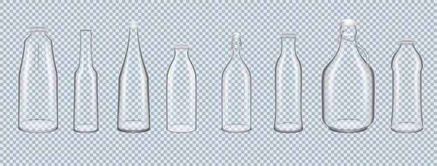 Barattolo di vetro realistico per conservare e trasportare alcolici liquidi e bevande alcoliche analcoliche
