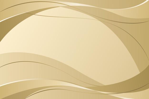 Sfondo di lusso dorato realistico