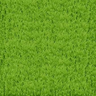 Sfondo realistico erba verde per decorazione, carta da regalo e copertura.
