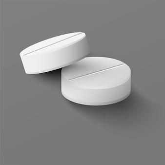 Pillole mediche realistiche