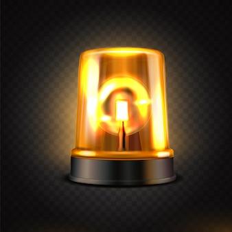 Lampeggiatore led gamma realistica