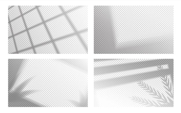 Illustrazione realistica della sovrapposizione delle ombre