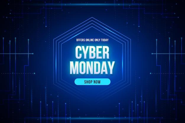 Tecnologia realistica cyber lunedì