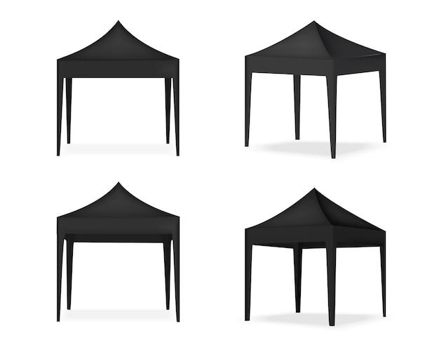 Esposizione realistica della tenda per la mostra di promozione del marketing di vendita