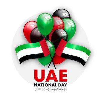 Celebrazione realistica della giornata nazionale degli emirati arabi uniti