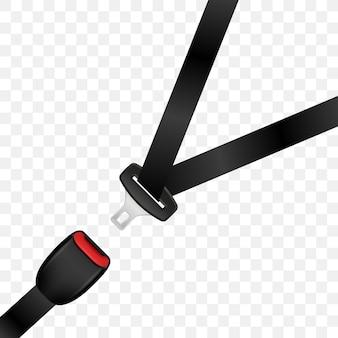 Cintura di sicurezza realistica sbloccata